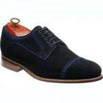 Marvin rubber-soled semi-brogues
