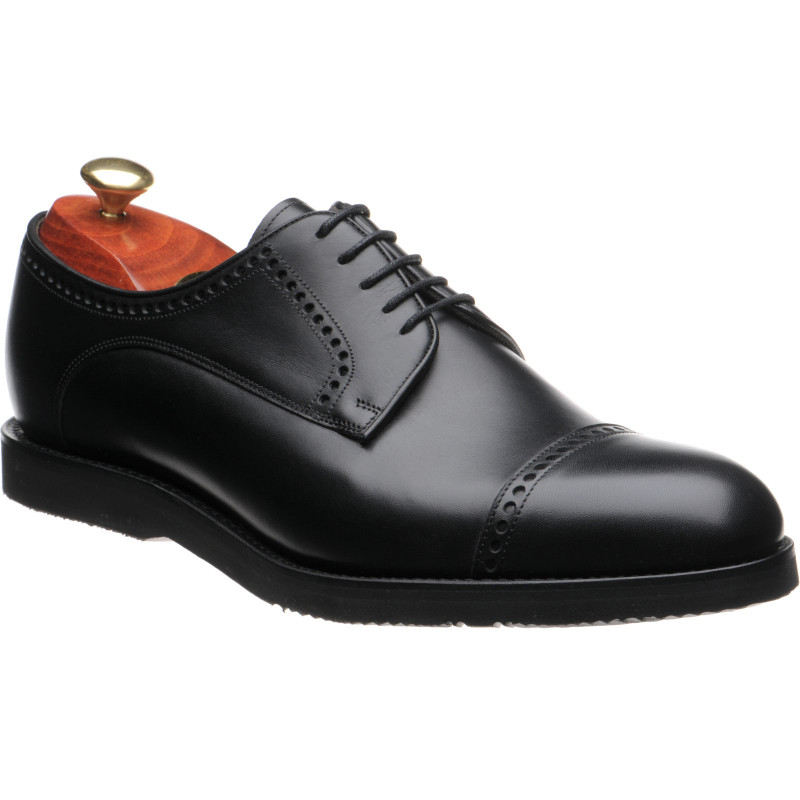 Marcus rubber-soled semi-brogues