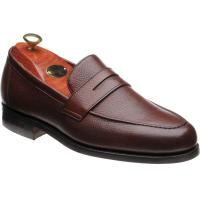 barker jevington rubber in cherry grain calf