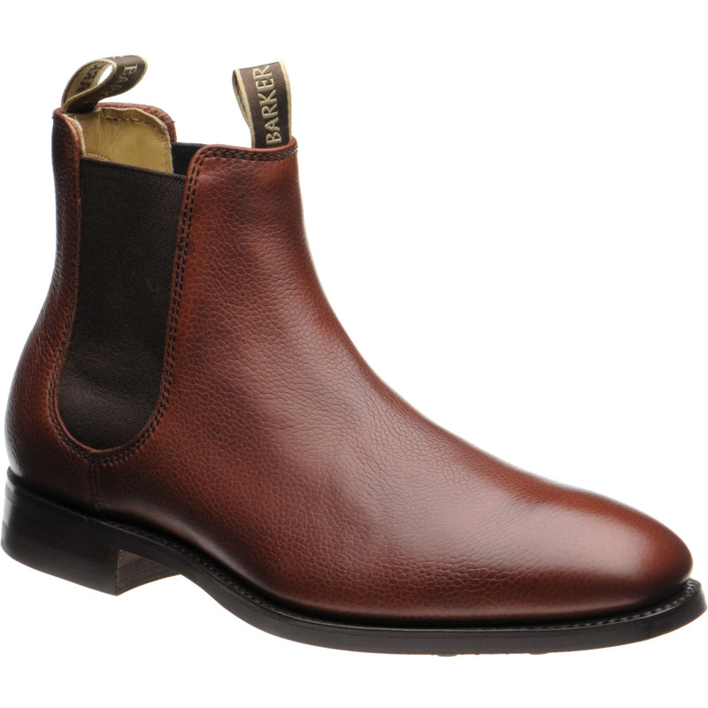 Mansfield R rubber-soled Chelsea boots