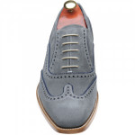 Spencer two-tone brogues