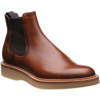 barker fred in antique rosewood calf