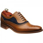 Brandon two-tone brogues
