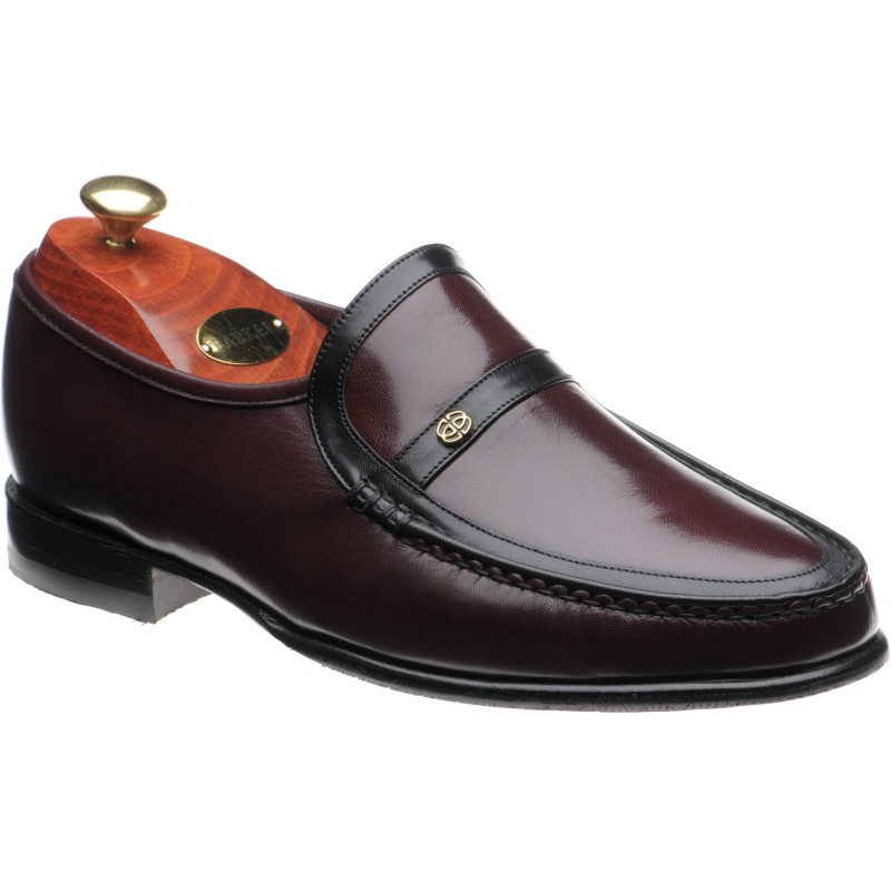 Barker Jefferson rubber-soled loafers