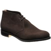 Sahara Crepe (dk edge) rubber-soled Chukka boots