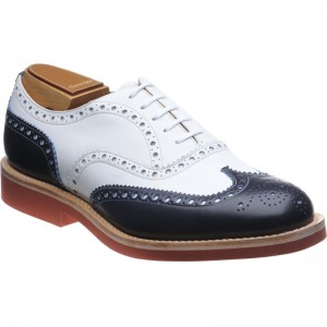 Church Downton in Navy and White
