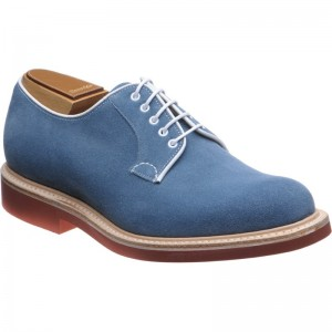 d0dd90f6bb885 Church shoes | Church Rubber | Fulbeck in Denim Suede at Herring Shoes
