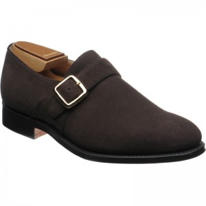 Church Sydney in Brown Cocoa Suede