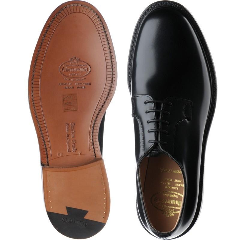 362c1561ddb8f Church shoes | Church Custom Grade | Shannon in Black Polished Binder at  Herring Shoes