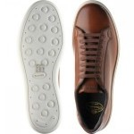 Mirfield rubber-soled trainers