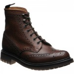McFarlane 2 rubber-soled brogue boots