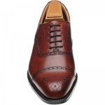 Weymouth rubber-soled semi-brogues