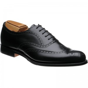 Church Withworth in Black Calf OLD