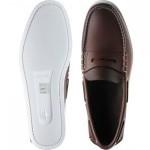 Tennington rubber-soled deck shoes