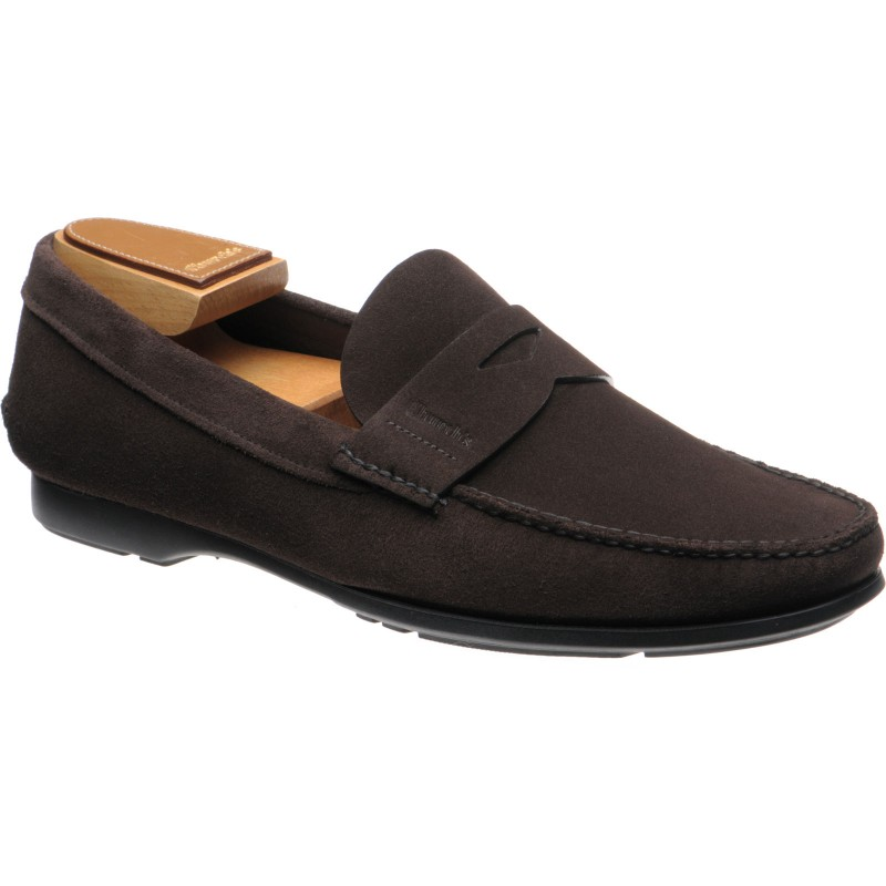 Karl rubber-soled loafers