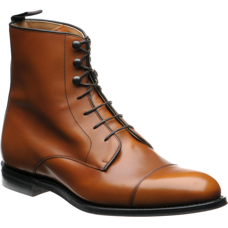 Edworth rubber-soled boots
