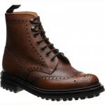 Church McFarlane LW rubber-soled brogue boots