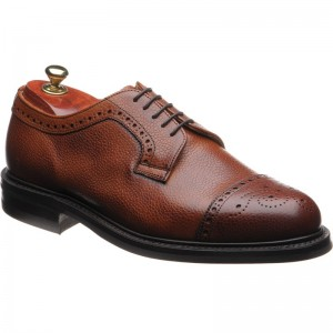 Tenterden rubber-soled semi-brogues