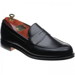 cheaney hudson in black calf