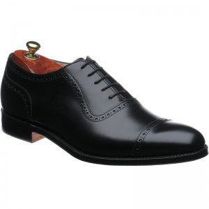 cheaney fenchurch in black calf