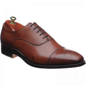 cheaney cambridge in dark leaf