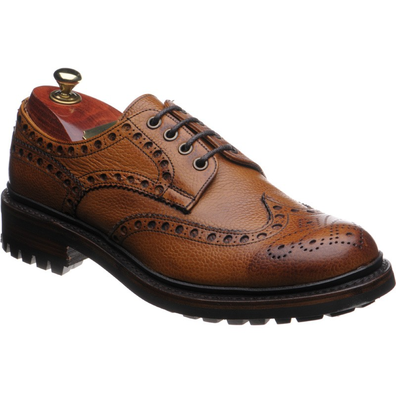 Cheaney Avon C rubber-soled brogues