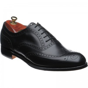 cheaney arthur iii in black calf