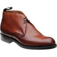 cheaney jackie iii rubber in dark leaf calf