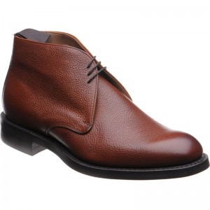 cheaney jackie iii rubber in mahogany grain