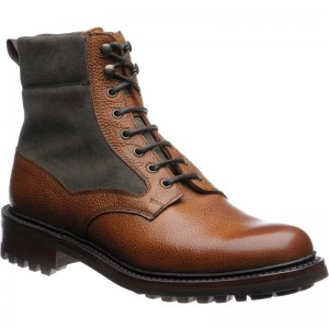 Cheaney Liffey two-tone rubber-soled boots
