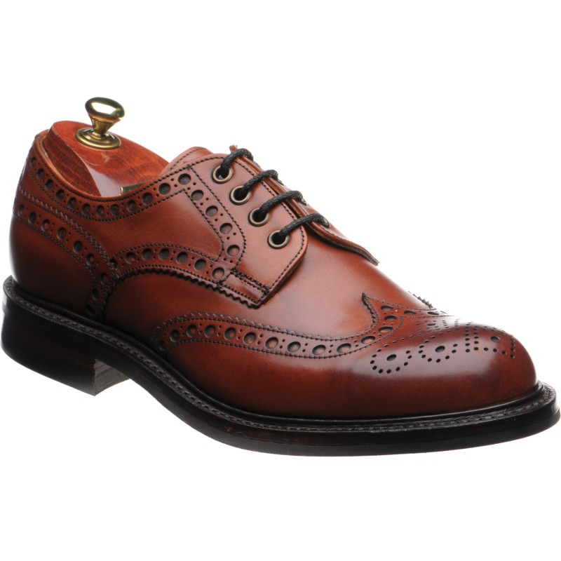 Avon R rubber-soled brogues