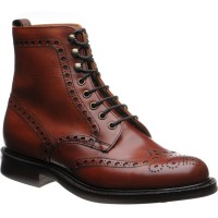 Cheaney Tweed R rubber-soled brogue boots