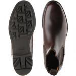 Barnes III B rubber-soled Chelsea boots