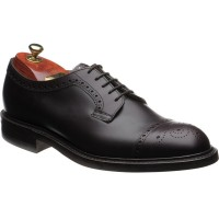 George IV R rubber-soled semi-brogues