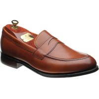 cheaney hadley in dark leaf calf