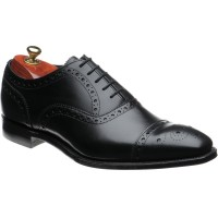 cheaney parkinson in black calf