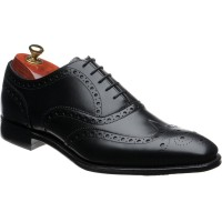 cheaney litchfield in black calf