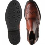 Tamar R rubber-soled brogue boots