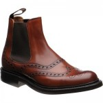 Cheaney Tamar R rubber-soled brogue boots