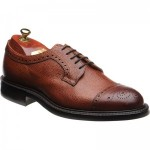 Cheaney Tenterden II R rubber-soled semi-brogues