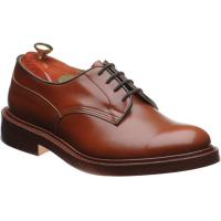trickers woodstock in marron antique calf