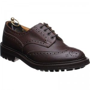 trickers ilkley in brown zug grain