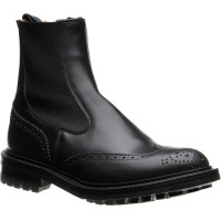 Trickers Henry rubber-soled brogue boots
