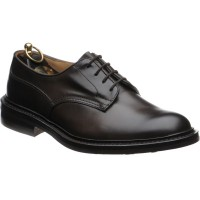 trickers woodstock rubber in espresso calf