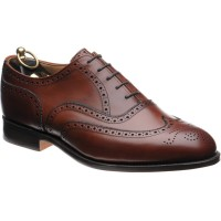 trickers norfolk in chestnut calf