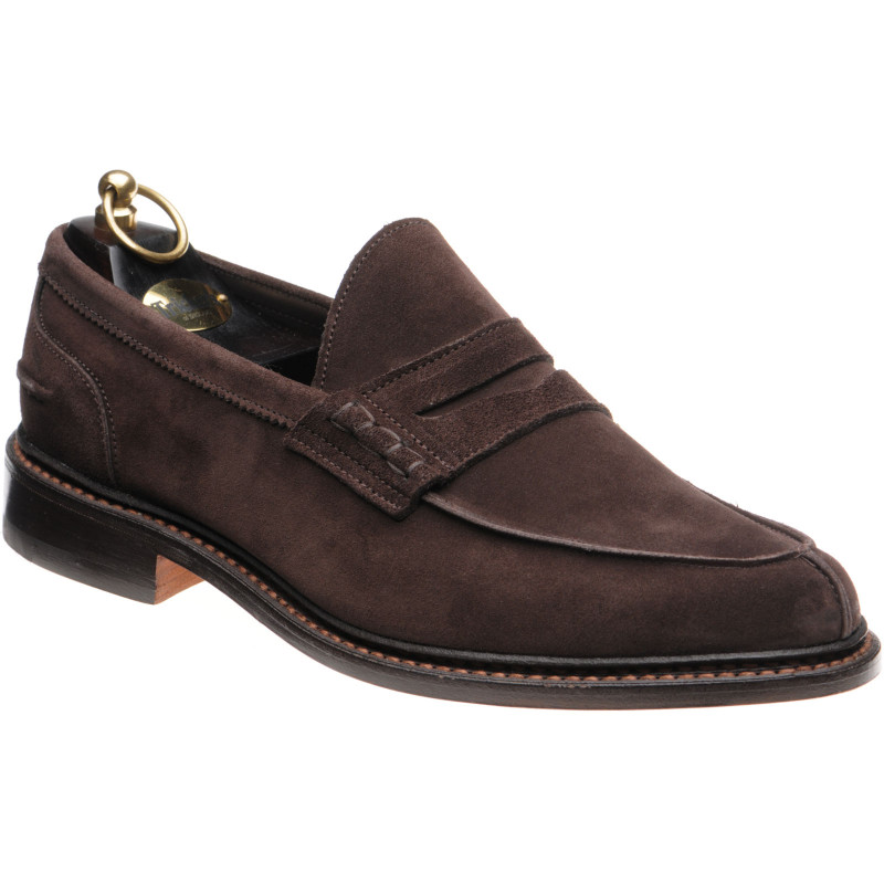 Adam loafers in Brown Suede