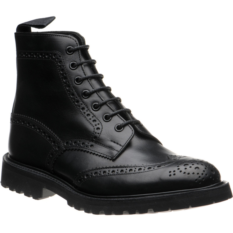 Stow (LW) rubber-soled brogue boots