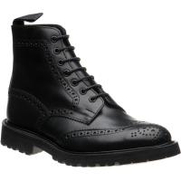 trickers stow lw in black olivvia calf