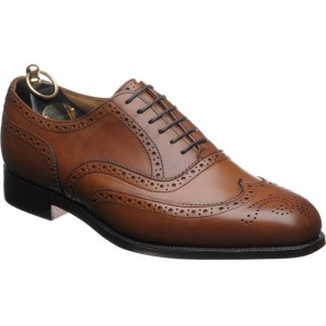 trickers piccadilly in beechnut calf