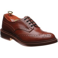 trickers bourton in marron calf